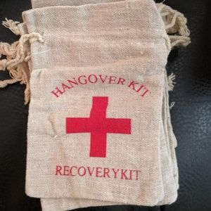 Other - Hangover Recovery Kit Bags